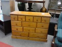 Solid Pine Chest of Drawers/Sideboard.