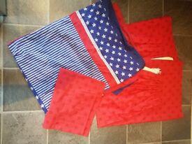 Next boys curtains bed linen