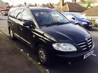 Ssangyong Rodius 2.7 TD auto mercedes engine SX 5dr 7 seats start and drive very well