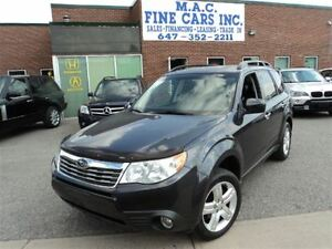 2009 Subaru Forester 2.5 X LIMITED - LEATHER - SUNROOF - AWD
