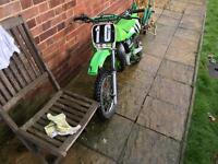 Kx 60 small wheel motocross bike