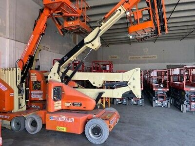2014 Jlg Articulated Electric Boom Lift Model E400jpn