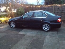 BMW 3 Series - 320i (E46) 2003 Petrol - Black