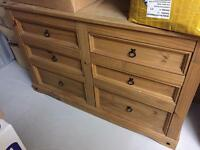 Bedroom drawers for sale 2 x sets. Was £750 new