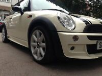 2004 Mini hatch 1.6 cooper FSH IMMACULATE CONDITION FULL COOPER S KIT HPI CLEAR £2200