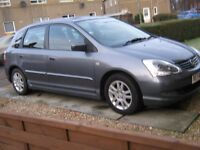 5DOOR HONDA CIVIC, F.S.HISTORY,OVERALL V G CONDITION INSIDE&OUT!!1 PREV OWNER, ALLOYS,CD,ELEC WINDWS