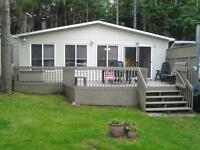 Camping st-Donat chalet Roulotte