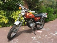 Yamaha DT 125 ATI 1972 American Import UK Registered