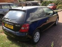 02 plate 1 owner from new Honda Civic 1.4