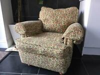 Beautiful three piece suite and two armchairs