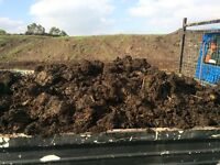 Topsoil & well rotted cow manure