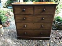 Extra large Victorian chest of drawers