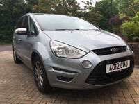 Silver Ford S Max 2.0 TDCi with full Ford service history