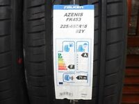 BRAND NEW PREMIUM FALKEN A RATED TYRES , WITH STICKERS ONLY £60 EACH, CHEAPEST IN UK, FORFAR ANGUS