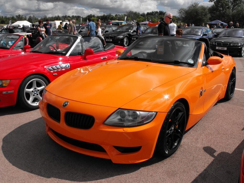 Bmw E85 Z4m Roadster Replica 3 0i Se Orange One Off Show Car Convertible In Porthcawl