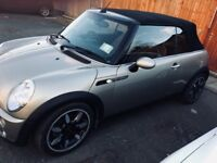 Mini Cooper S Sidewalk. Convertible 2007. For sale at £4000