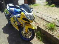 2001 GSXR750 (£1800)