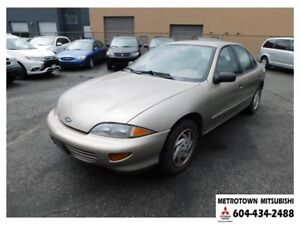 1999 Chevrolet Cavalier LS; Local & no accidents!