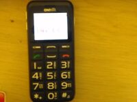 MOBILE PHONE LARGE BUTTONS AND VOICE ACTIVATION WHEN DIALLING