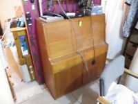 Old wooden Bureau