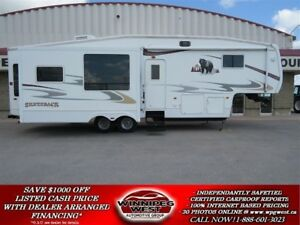 2007 Forest River CEDAR CREEK SILVERBACK  M-33LCDTS, 35FT, TRIPL