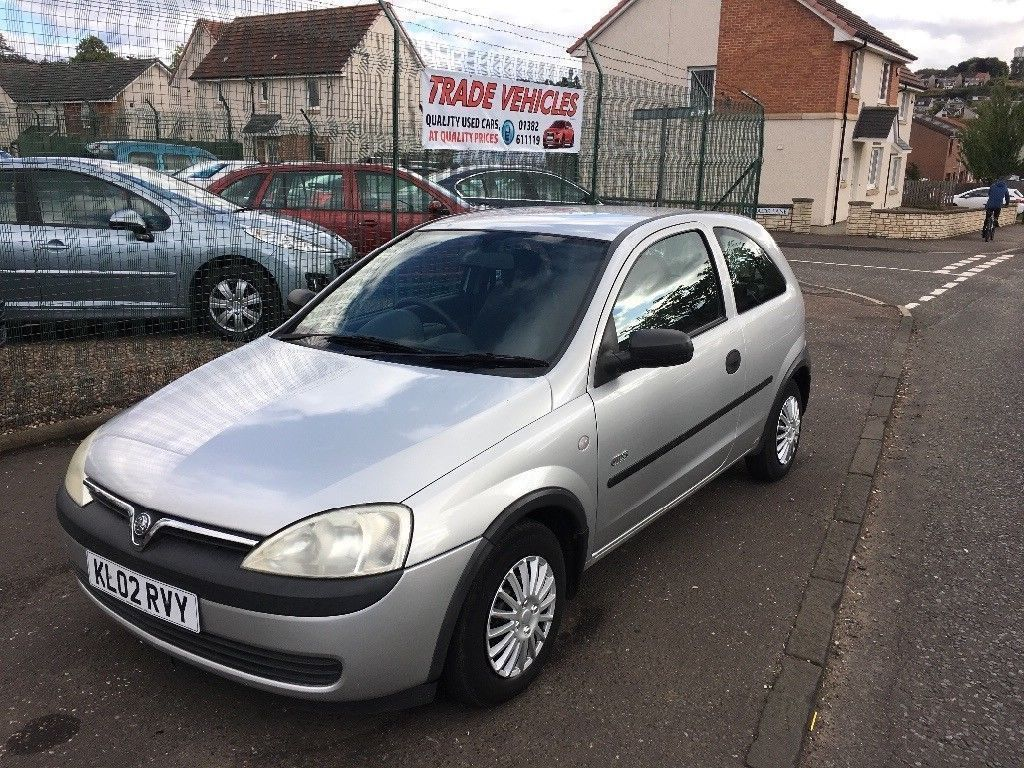 02 Vauxhall Corsa 1.2, 70k with long MOT