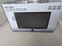 "ALBA 19"" LED TV/ DVD Combi BRAND NEW"