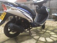 125cc sinnis shuttle moped