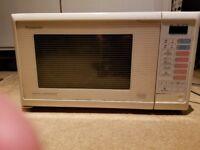 Panasonic microwave 30 pounds!