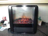 Dimplex Micro-Fire Black Freestanding Electric Fire