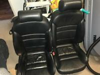 Audi A3 front leather seats