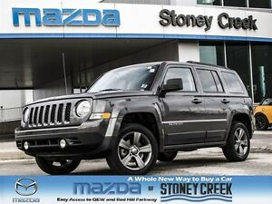 2015 Jeep Patriot Sport/North Heated Seats, Sunroof, Leather, 4X