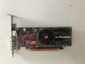 ATI FireMV Graphics Card - AMD 2250 256MB PCI-E DDR2 - DMS 59 - S-Video FOR DUAL SCREENS