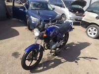 Yamaha ybr 125 blue