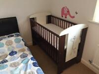 Cot with Drawer and & Mattress