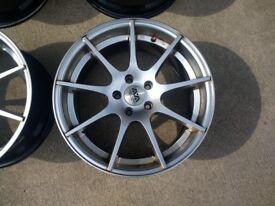 AVA San Diego 5x112 mk5 Golf/Jetta/Mk2 Leon/A3/A4/A5 wheels