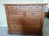Waring & Gillow Majestic Old Oak Chest of Drawers