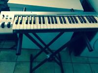 KEY STUDIO 49- NOTES USB KEYBOARD CONTROLLER WITH STAND