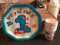 Boys 1st birthday set