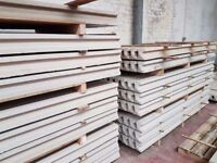 🌟 Manufactured On Site Superb Quality Concrete Fence Posts / Base Panels