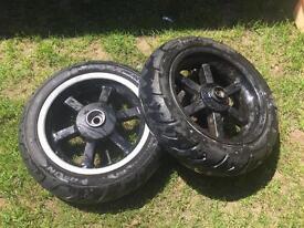 """Moped wheels 12"""""""