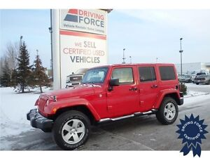 2012 Jeep Wrangler Unlimited Sahara 4x4,Targa Roof, 44,310 KMs
