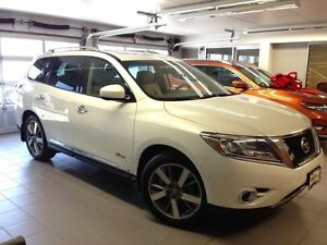 2014 Nissan Pathfinder PLATINUM/HYBRID/1 OWNER LOCAL TRADE!!