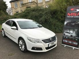 ~SOLD~ 2011 VW PASSAT CC 2.0 GT TDI BMT FREE 2 YEARS WARRANTY ~MORE CARS AVAILABLE~ white diesel