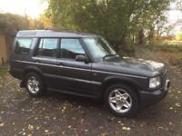 "2001 (51) LANDROVER DISCOVERY 2.5 TD5 MANUAL 4x4 DIESEL 7 SEAT ""9 MONTHS MOT"" FULL LEATHER"