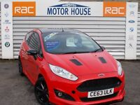 Ford Fiesta ZETEC S (£0.00 ROAD TAX) FREE MOT'S AS LONG AS YOU OWN THE CAR!!!! (red) 2013