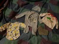 Baby clothes vest top babygrow bib hat