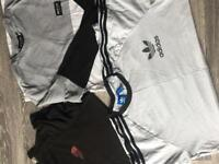 Adidas, Nike, Ralph Lauren, north face