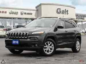 2016 Jeep Cherokee NORTH 4X4 | HEATED SEATS BLUETOOTH