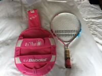Child's 19 inch Babelat tennis racket